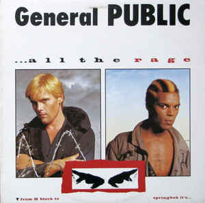 Rock/Pop General Public - ...All The Rage (VG+)