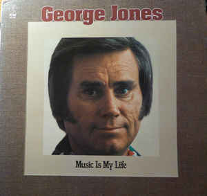 Folk/Country George Jones - Music Is My Life (Name in blue ink on back cover) (VG+)