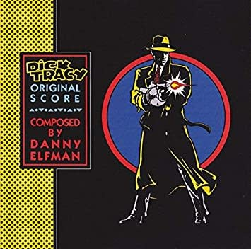 Soundtracks Danny Elfman - Dick Tracy (Transparent Blue Vinyl)