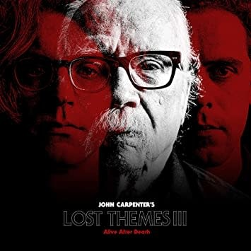 Soundtracks John Carpenter - Lost Themes III: Alive After Death (Red Vinyl)