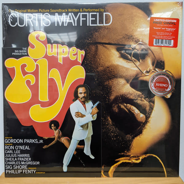 R&B/Soul/Funk Curtis Mayfield - Super Fly (Red Vinyl)