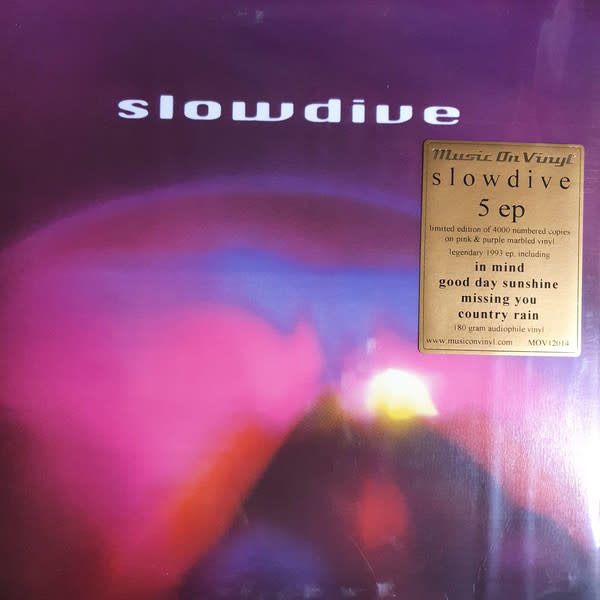 Rock/Pop Slowdive - 5 ep (Pink & Purple Marbled Vinyl)