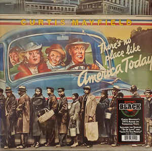 R&B/Soul/Funk Curtis Mayfield - There's No Place Like America Today (Turquoise vinyl)