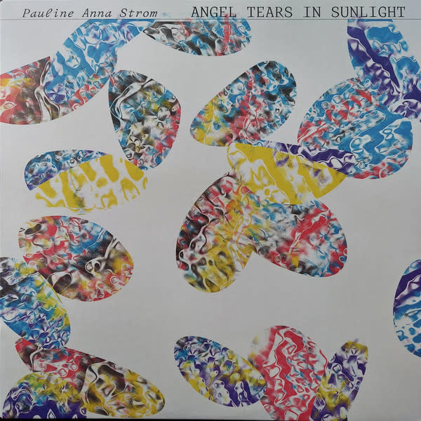 Electronic Pauline Anna Strom - Angel Tears In Sunlight (Clear/Red/Yellow Swirled Vinyl)