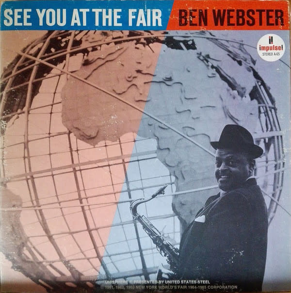 Jazz Ben Webster - See You At The Fair (70s ABC/Impulse Reissue) (VG+)