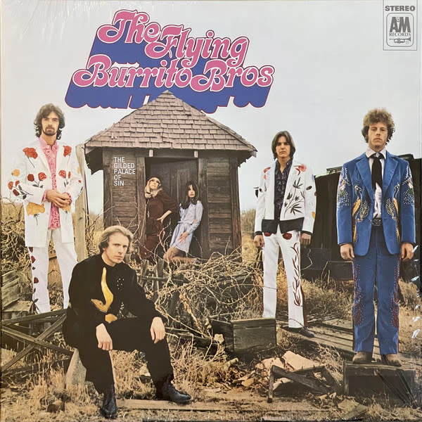 Rock/Pop The Flying Burrito Bros - The Gilded Palace of Sin