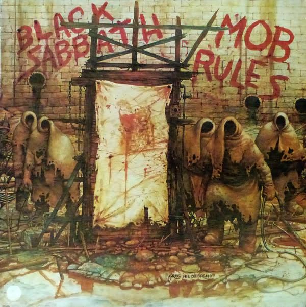 Rock/Pop Black Sabbath - Mob Rules 40th Annv. Ed