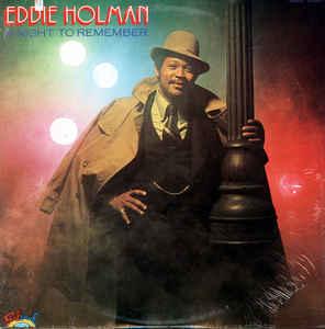 R&B/Soul/Funk Eddie Holman - A Night To Remember (Moderate cover wear) (VG)