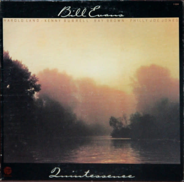 Jazz Bill Evans - Quintessence (1977 US Press) (VG) (shelf-wear, ring-wear)