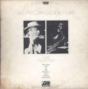 Jazz Les McCann & Eddie Harris - Swiss Movement (Cover wear) (VG)