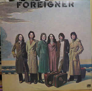 Rock/Pop Foreigner - S/T (VG+)