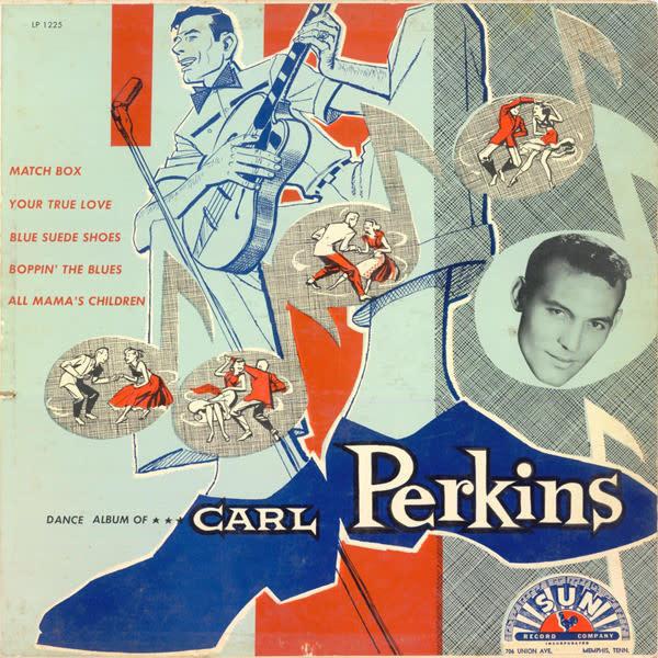 Rock/Pop Carl Perkins - Dance Album of Carl Perkins