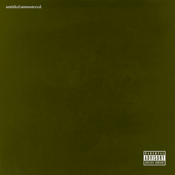 Hip Hop/Rap Kendrick Lamar - Untitled Unmastered.