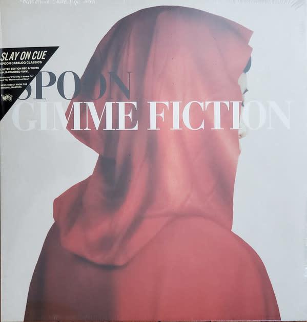 Rock/Pop Spoon - Gimme Fiction (Red & White Split-Coloured Vinyl)