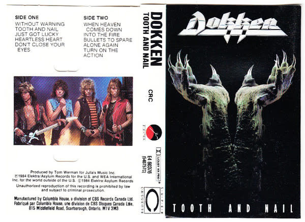 Rock/Pop Dokken - Tooth And Nail