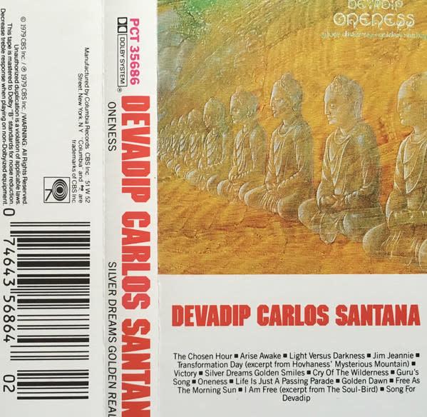 Rock/Pop Devadip Carlos Santana - Oneness (Silver Dreams~Golden Reality)