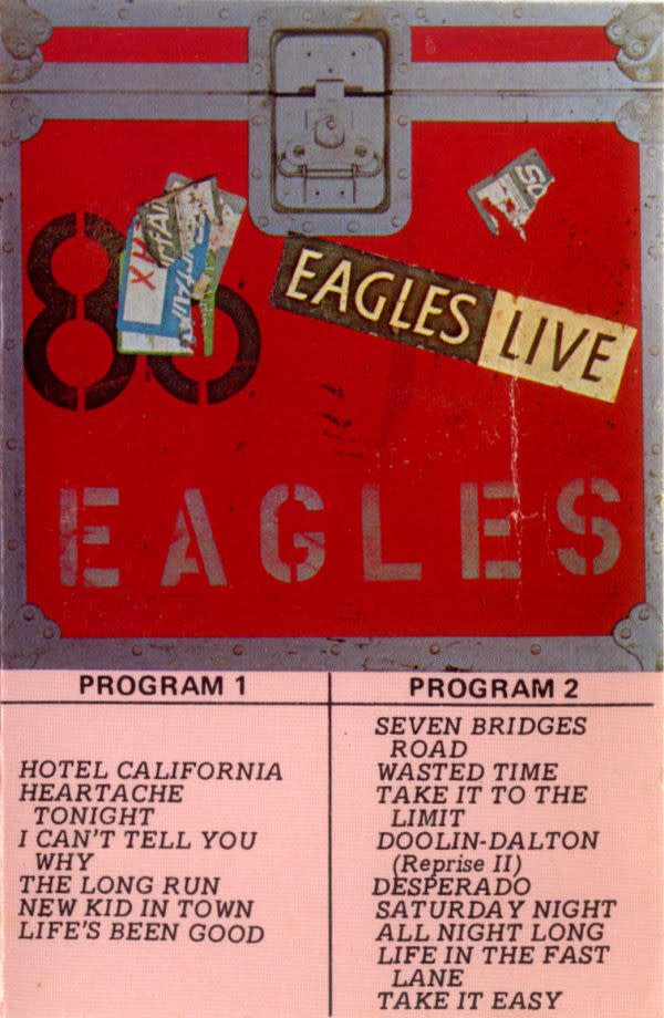 Rock/Pop Eagles - Live