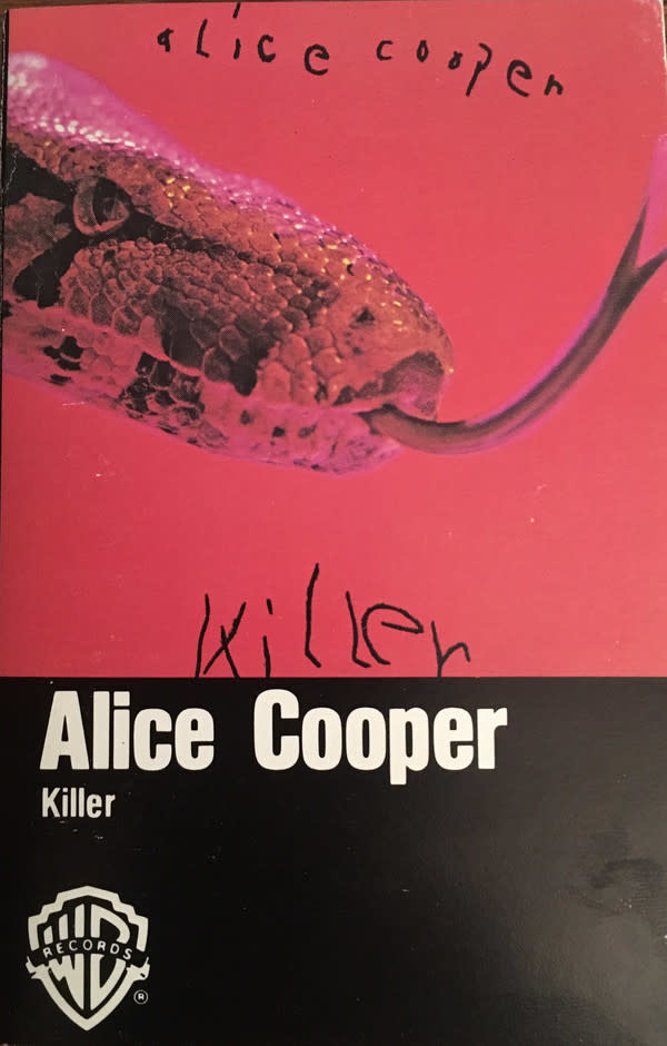 Rock/Pop Alice Cooper - Killer (two punctures through cover)