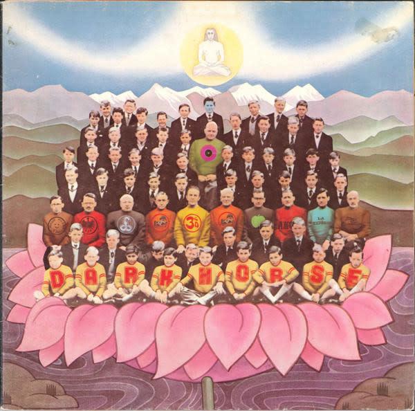 Rock/Pop George Harrison - Dark Horse (CA '74) (VG+) (sticker on cover)