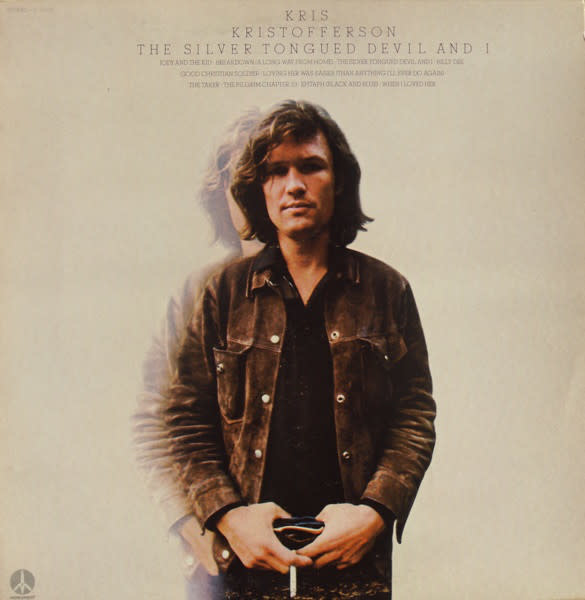Folk/Country Kris Kristofferson - The Silver Tongued Devil And I (VG+)