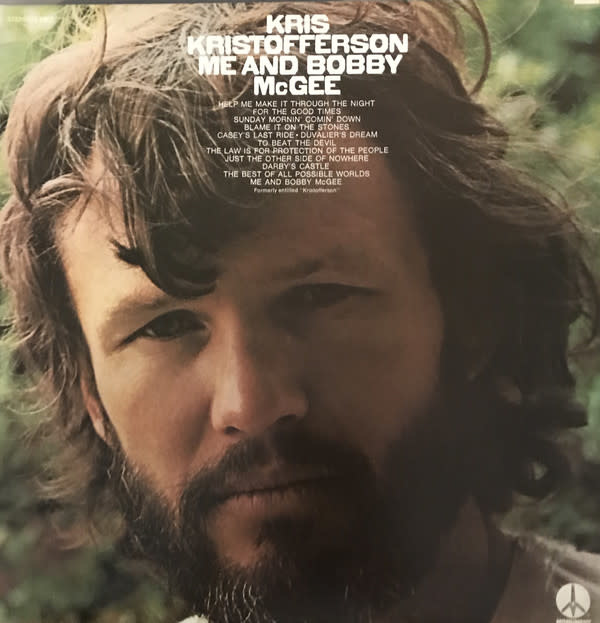 Folk/Country Kris Kristofferson - Me And Bobby McGee (VG+)