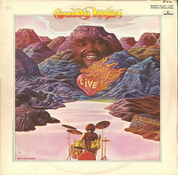 Jazz Buddy Miles - Live 2LP (VG) (CA '71)