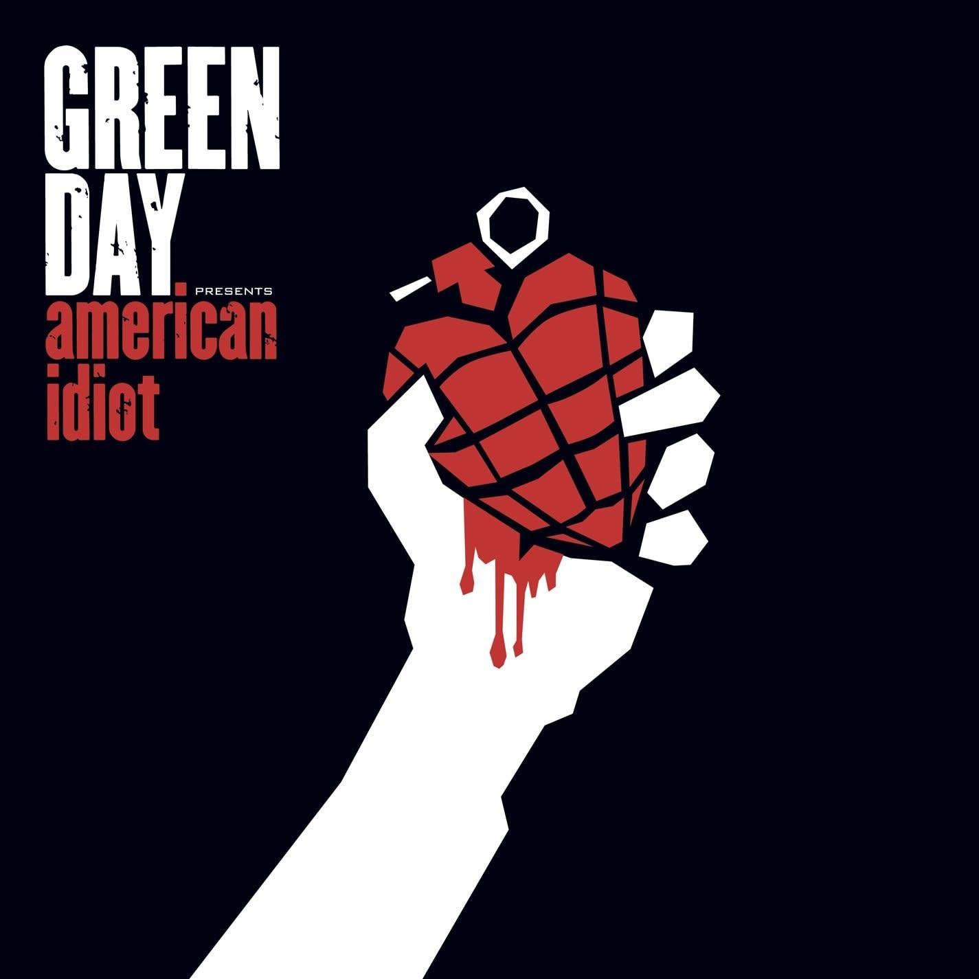 Rock/Pop Green Day - American Idiot