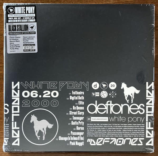 Rock/Pop Deftones - White Pony (20th Ann. 4LP Box Set Ltd. Ed. w/Lithograph)