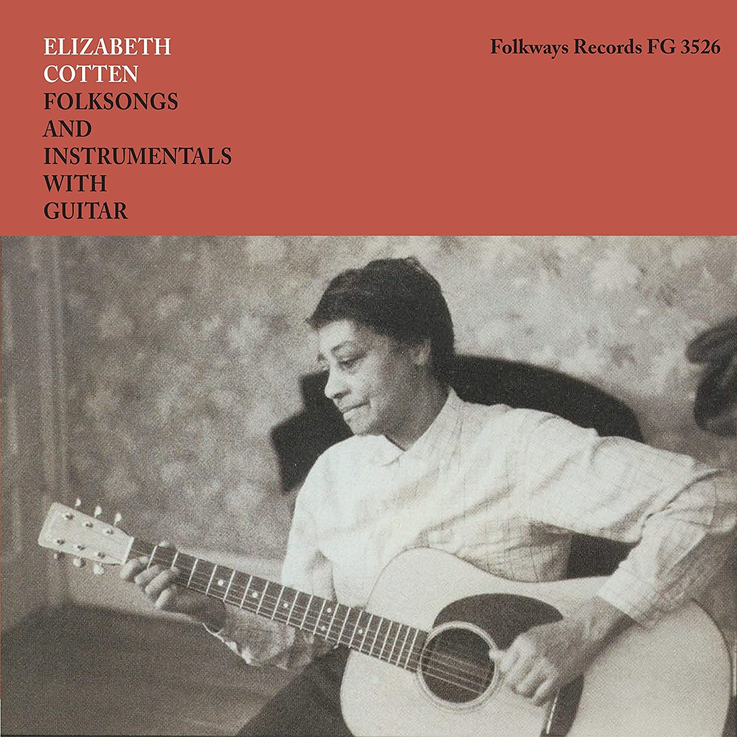 Folk/Country Elizabeth Cotten - Folksongs And Instrumentals With Guitar