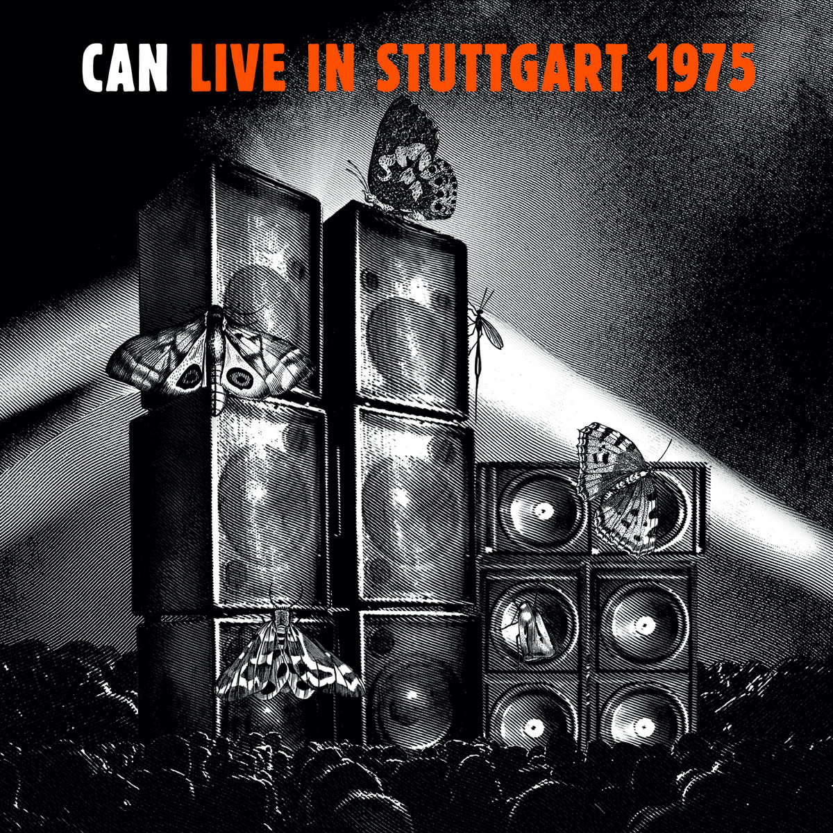 Krautrock Can - Live In Stuttgart 1975 (Triple Orange Vinyl)