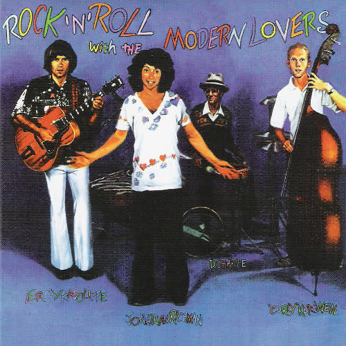 Rock/Pop Jonathan Richman & The Modern Lovers - Rock 'N' Roll With The Modern Lovers (1977 UK Press) (VG+) (creases and shelf-wear)