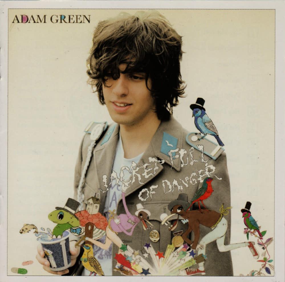 Rock/Pop Adam Green - Jacket Full Of Danger (2006 UK) (VG+)