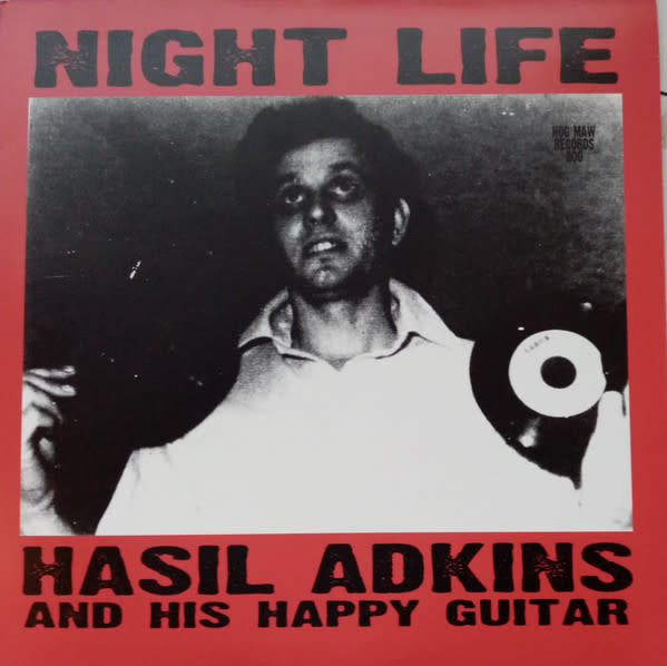 Rock/Pop Hasil Adkins And His Happy Guitar - Night Life (VG+)