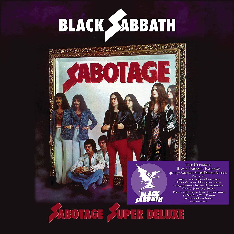 "Metal Black Sabbath - Sabotage (4LP & 7"" Super Deluxe Edition)"