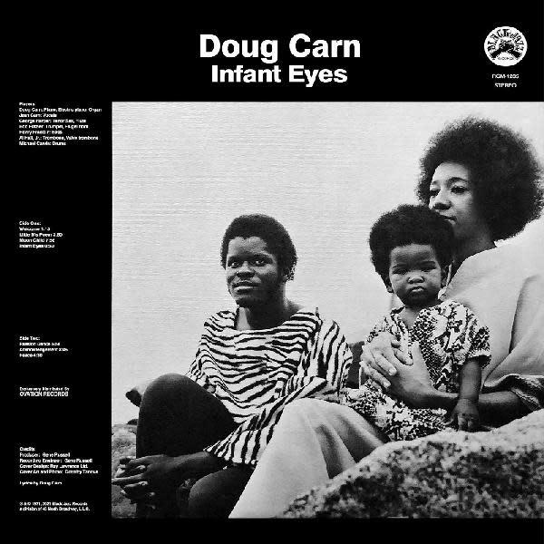 Jazz Doug Carn - Infant Eyes (Orange with Black Swirl)