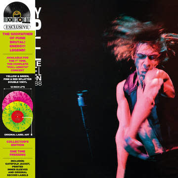 Rock/Pop Iggy Pop - Live at the Channel Boston (Splatter Vinyl)
