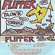 Rock/Pop Flipper - Blow'N Chunks (Live) (1984 Yellow Shell)