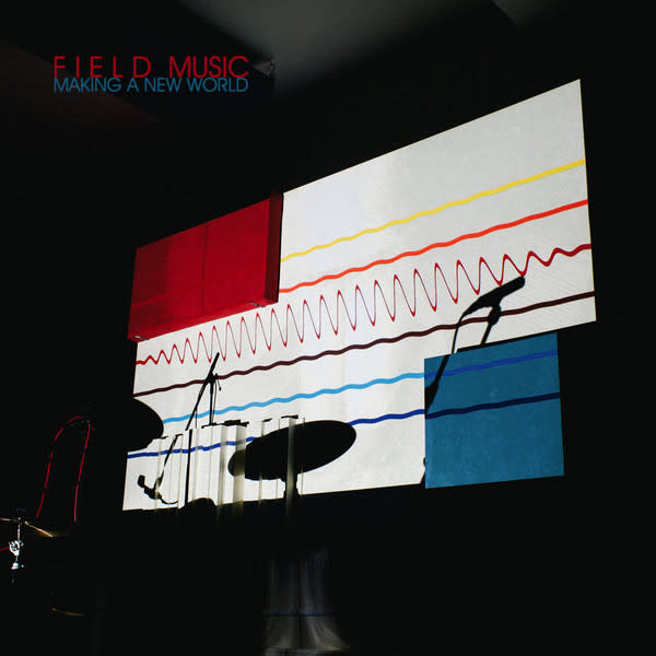 Rock/Pop Field Music - Making A New World (Transparent Red Vinyl) (BELOW COST BLOWOUT!)