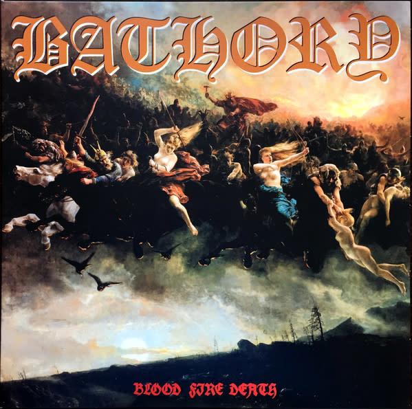 Metal Bathory - Blood Fire Death