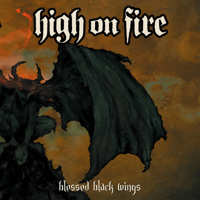 Metal High On Fire - Blessed Black Wings (Orange Cloudy)