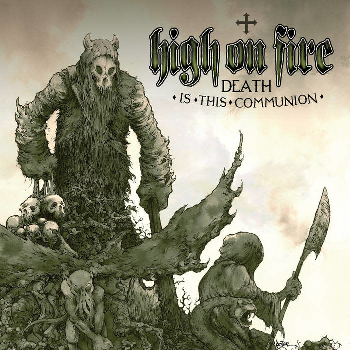 Metal High On Fire - Death Is This Communion (Green Cloudy)