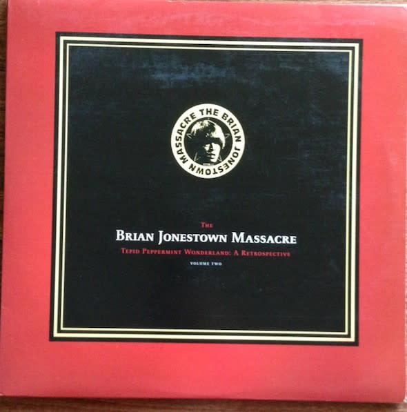 Rock/Pop Brian Jonestown Massacre -  Tepid Peppermint Wonderland: A Retrospective (Volume Two) (2006 Red Transparent Vinyl) (VG+)