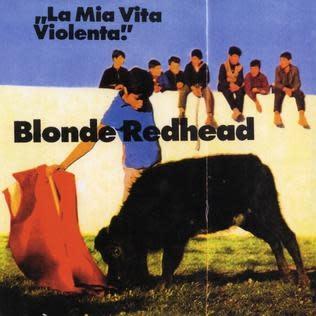 Rock/Pop Blonde Redhead - La Mia Vita Violenta (Jewel Red Vinyl)