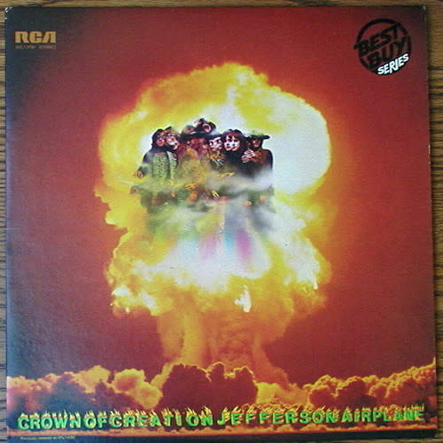 Rock/Pop Jefferson Airplane - Crown Of Creation (1980 CA) (VG+, some creases)