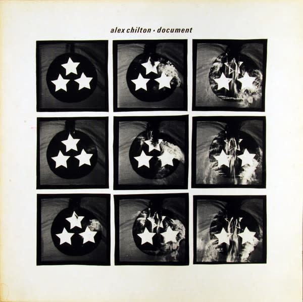Rock/Pop Alex Chilton - Document (VG, rips/splits on top seam of sleeve, creases, sticker residue)