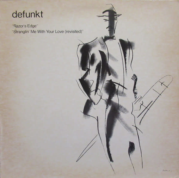 R&B/Soul/Funk Defunkt - Razor's Edge b/w Stranglin' Me With Your Love (Revisited) (VG+)