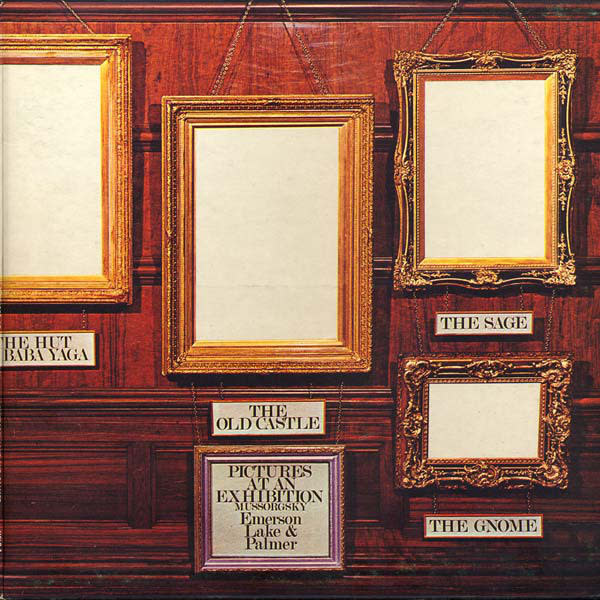 Rock/Pop Emerson, Lake & Palmer - Pictures at an Exhibition (VG++)