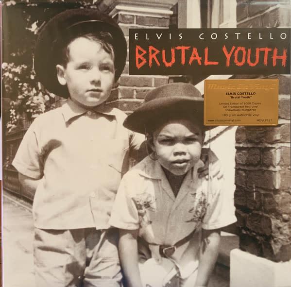 Rock/Pop Elvis Costello - Brutal Youth (Transparent Red Vinyl) (NM)