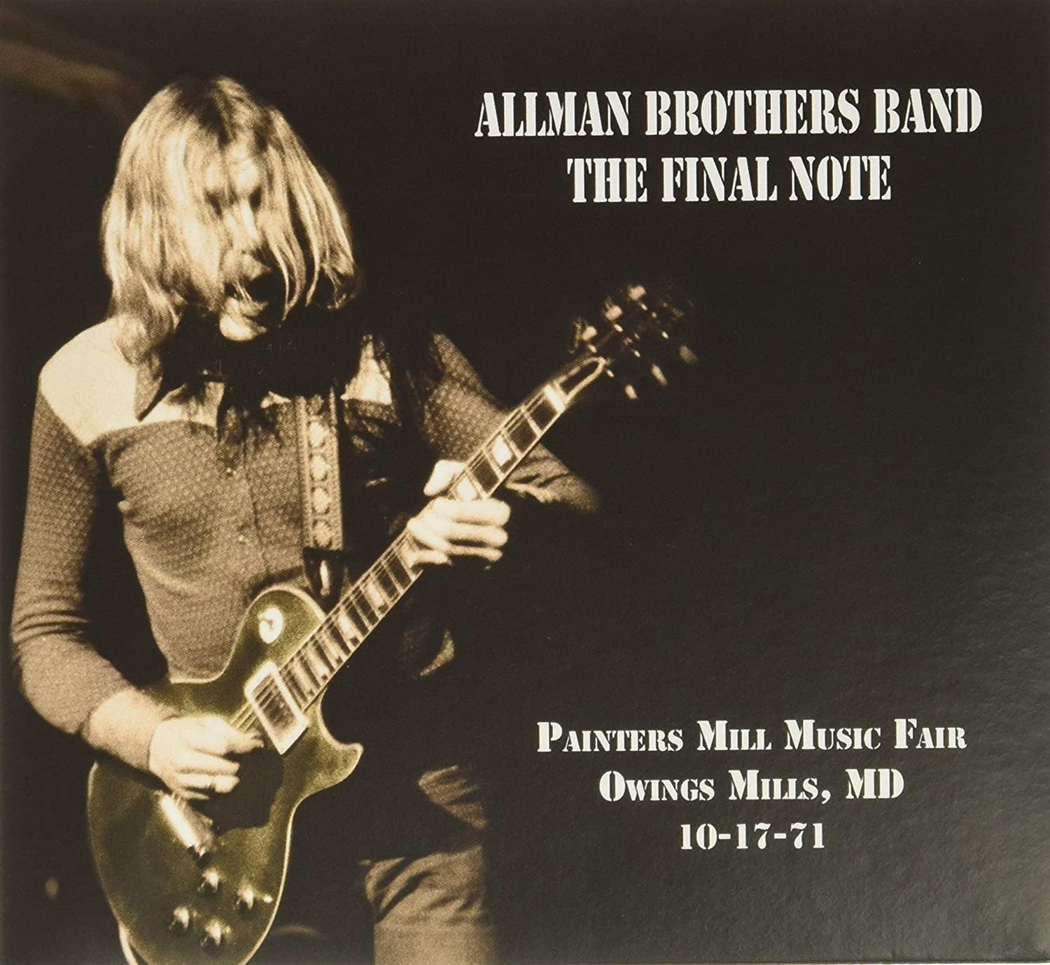 Rock/Pop Allman Brothers Band - The Final Note: Painters Mill Music Fair...10-17-71 (Coloured Vinyl)