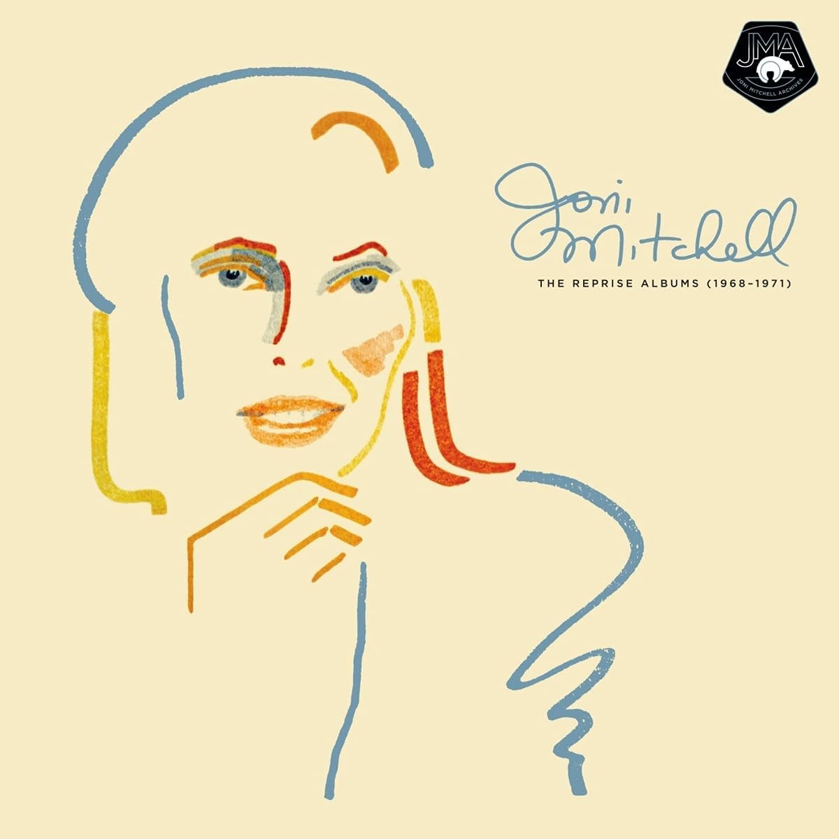 Rock/Pop Joni Mitchell - The Reprise Albums (1968-1971) (4LP 180g) (Price Reduced: minor corner dent)